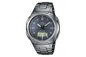 Японские аналого-цифровые многофункциональные часы Casio WVA-430TDE-1A2