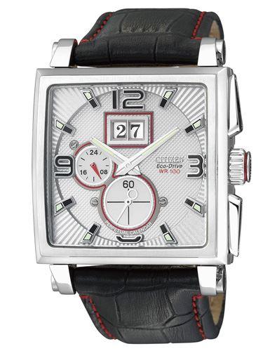 Мужские кварцевые наручные японские часы Citizen  BT0071-09A