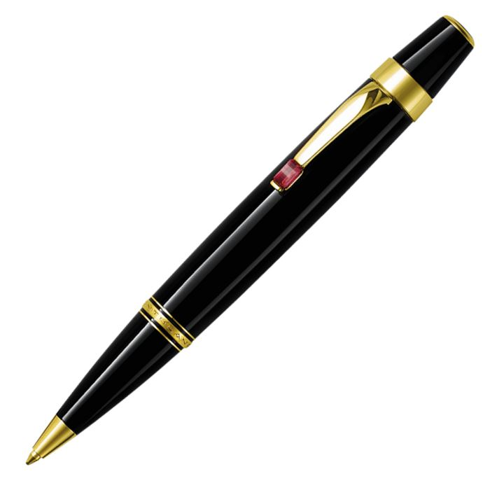 2760 Montblanc Ручка шариковая черн/позолота