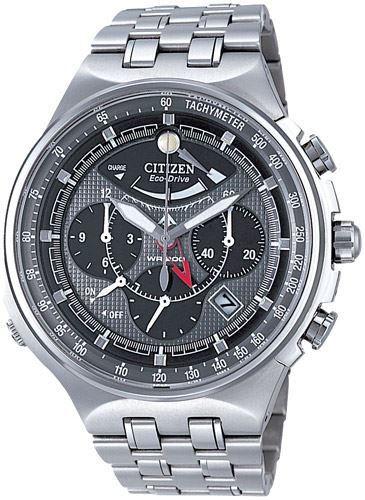 Мужские кварцевые наручные японские часы Citizen  AV0020-55H