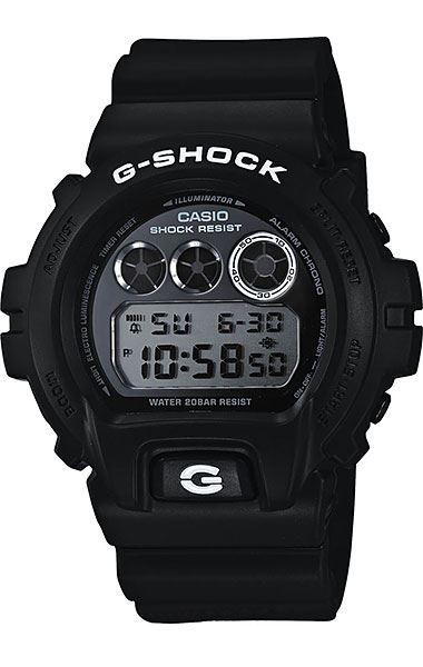 Японские наручные часы Casio G-Shock DW-6900BW-1E