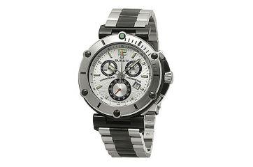Мужские кварцевые наручные швейцарские часы Burett B 4203 LSSF