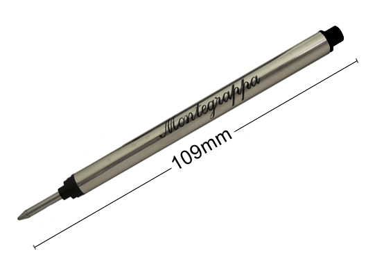 IA00RFTC Стержень роллер для ручки Montegrappa (Монтеграппа), Miya Rollerball Refill. Черный.