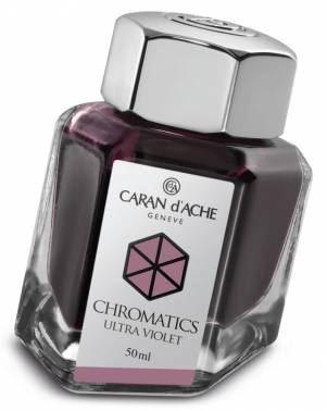 8011.099 Чернила Caran d'Ache (Карандаш). Фиолетовые.