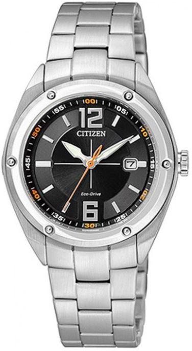 Мужские кварцевые наручные японские часы Citizen  EW2080-65E