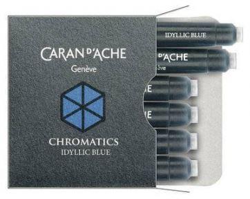 8021.140 Картриджи Caran dache (Карандаш). Синие.