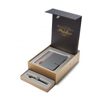 1978402 Подарочный набор Parker (Паркер): ручка+блокнот