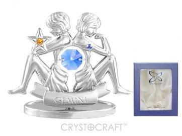 U0259-001-CBLB Сувенир Crystocraft, (БЛИЗНЕЦЫ)