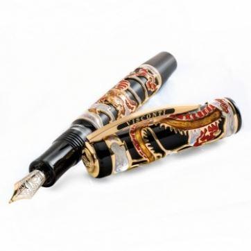 VS-648-02M Ручка перьевая Visconti (Висконти), Dragon