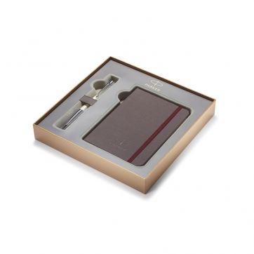 1978329 Подарочный набор Parker: ручка+блокнот