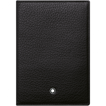 111127 Обложка для паспорта Montblanc Meisterstuck 90 years Soft Grain