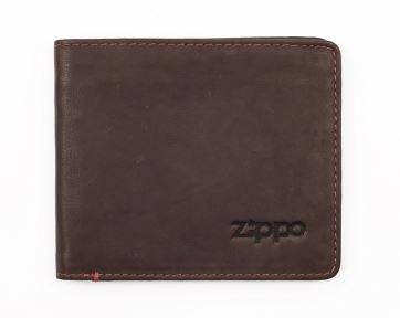 2005119 Горизонтальное кожаное портмоне ZIPPO