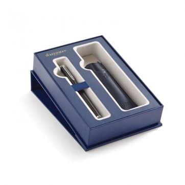 2019833 Подарочный набор Waterman: перьевая ручка+чехол