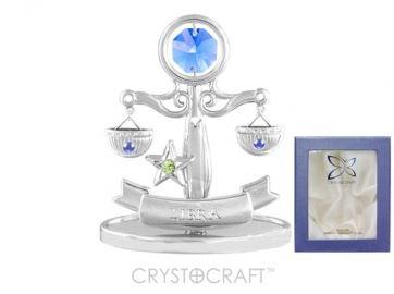 U0263-001-CBLB Сувенир Crystocraft, (ВЕСЫ)