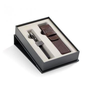 2018899 Подарочный набор Parker: перьевая ручка+чехол