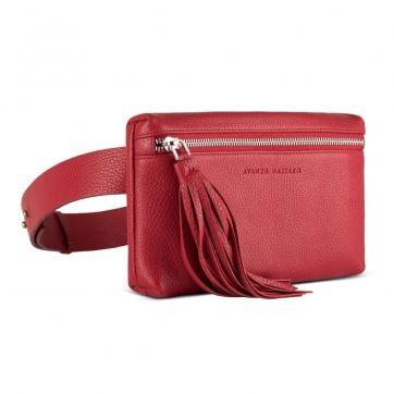 018-103404 Клатч на ремне Avanzo Daziaro Red