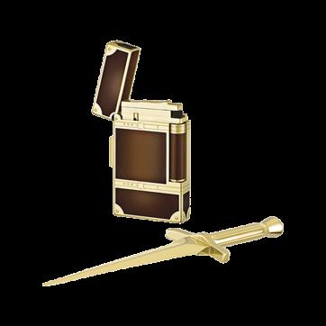 16186 Подарочный набор S.T.Dupont: зажигалка + нож для бумаг