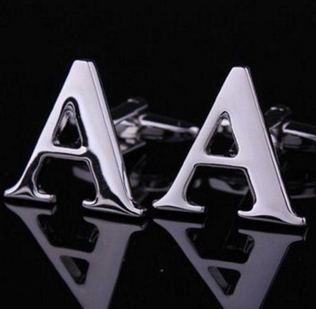 ZAP-A Темтические запонки - буква А