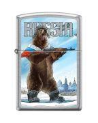 207 RUSSIAN BEAR Зажигалка ZIPPO