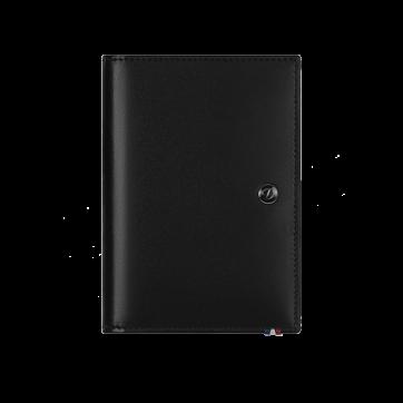 180038RU Обложка для автодокументов S.T.Dupont Elysee черная