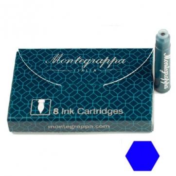 IA00C0EB Картриджи для перьевых ручек Montegrappa (Монтеграппа). Синие.