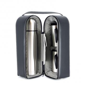 SET-SS10 Подарочный набор S.Quire (С.Квайер):термос+2 кружки