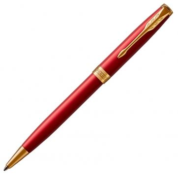 1931476 Шариковая ручка Parker (Паркер), ESSENTIAL Sonnet Laque Red GT