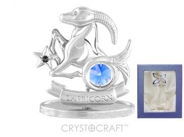 U0266-001-CBLB Сувенир Crystocraft, (КОЗЕРОГ)