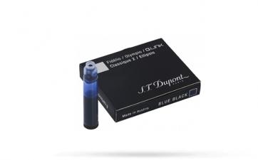 40111 Картриджи для перьевой ручки S.T. Dupont (Дюпон). Темно-синие