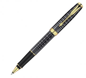 S0912460 Ручка-роллер Parker Sonnet T531 Dark Grey Laquer GT