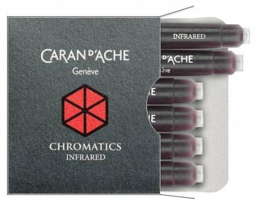 8021.070 Картриджи Caran dache (Карандаш). Темно-красные.