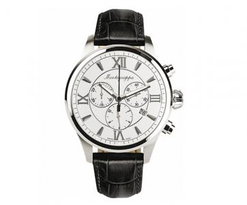 IDFOWCLJ Мужские часы Montegrappa (Монтеграппа), CHRONO SILVER DIAL