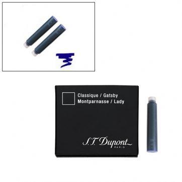40101 Картриджи для перьевой ручки S.T. Dupont темно-синий цвет