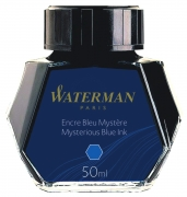 S0110790 Чернила Waterman (Ватерман). ТЕМНО-СИНИЕ.