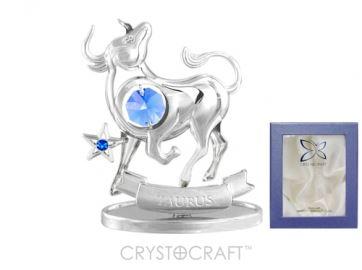 U0258-001-CBLB Сувенир Crystocraft, (ТЕЛЕЦ)