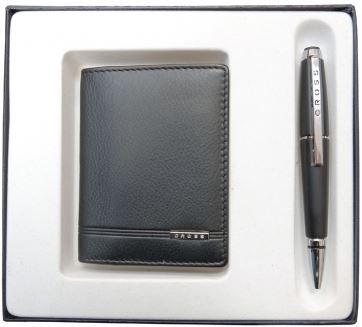 AC018036-1NAB Подарочный набор: чехол+ручка Cross (Кросс)