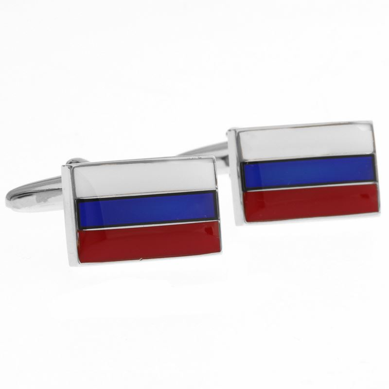 RUSSIA-FLAG Запонки
