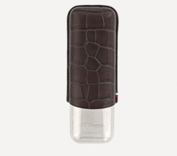 183106 Чехол для 2-х сигар S.T.Dupont - Croco Dandy