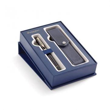 2019844 Подарочный набор Waterman: перьевая ручка+чехол