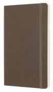 БЛОКНОТ MOLESKINE CLASSIC SOFT LARGE, 192 СТР., КОРИЧНЕВЫЙ, В ЛИНЕЙКУ