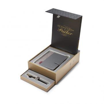 1978407 Подарочный набор Parker: ручка+блокнот