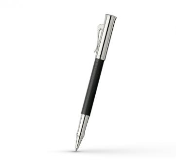 146510 Ручка-роллер Graf von Faber-Castell Guilloche Black