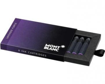 105197 Фиолетовые картриджи montblanc для перьевых ручек
