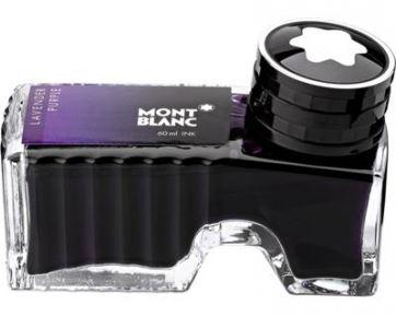 Фиолетовые чернила montblanc для ручек montblanc