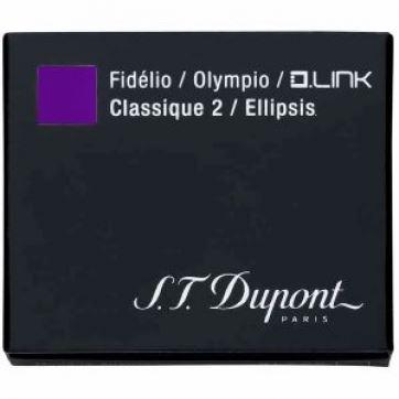 40115  Картриджи для перьевой ручки S.T. Dupont (Дюпон). Фиолетовые.