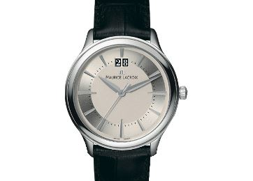 Мужские наручные швейцарские часы Maurice Lacroix LC1128-SS001-1