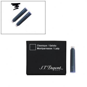 40100 Картриджи для перьевой ручки S.T. Dupont черный цвет