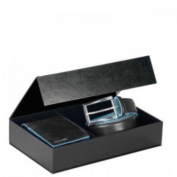 CUBOX02B2/N Подарочный набор PIQUADRO (ПИКВАДРО), Blue Square