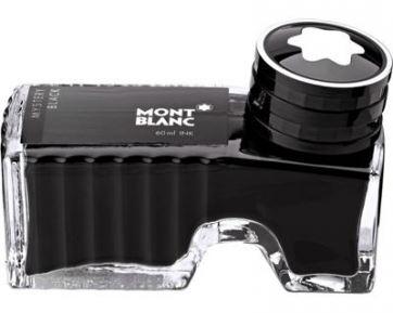 Черные чернила montblanc для ручек montblanc