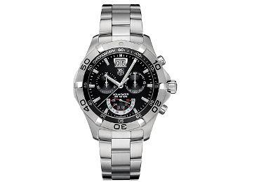 Мужские наручные швейцарские часы Tag Heuer CAF101E.BA0821